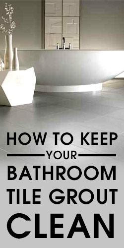Top 25 ideas about cleaning bathroom tiles on pinterest for How to make grout white again