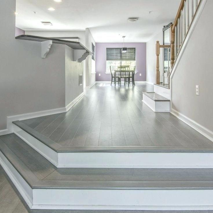 Dark Grey Bamboo Flooring Gray