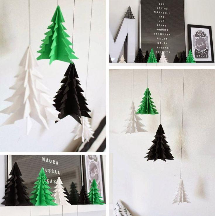 Елочка из бумаги (12 см) - оригами. Быстро, стильно.   Снова Праздник!