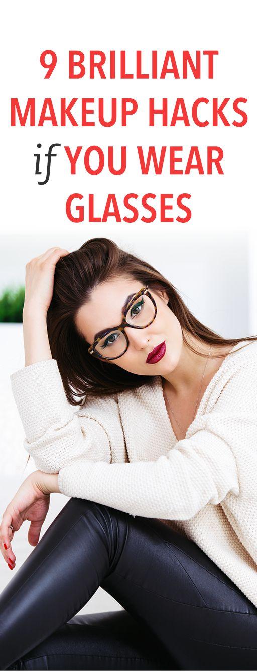 9 brilliant makeup hacks if you wear glasses