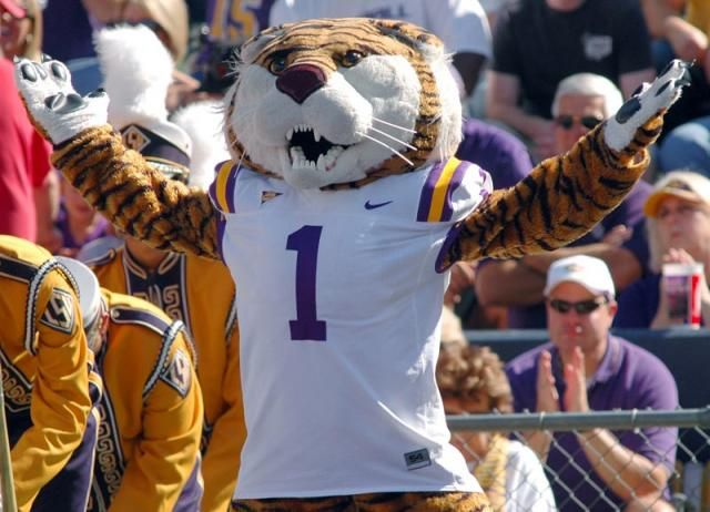 Mike the Tiger, LSU Mascot - LSUsports.net - The Official Web Site of LSU Tigers Athletics