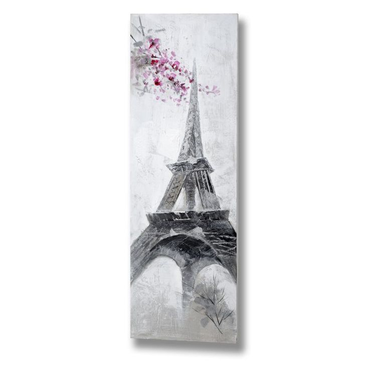 Eiffel Tower Oil Painting