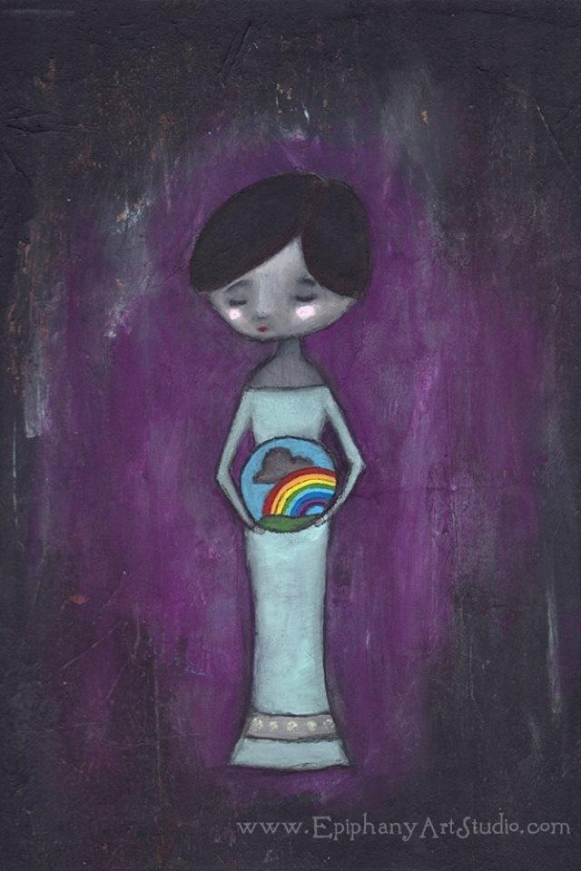 babyloss art - Deuil périnatal Soutien: www.nospetitsangesauparadis.com