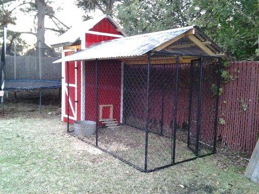 Our homemade chicken coop chicken coop pinterest for Homemade chicken house