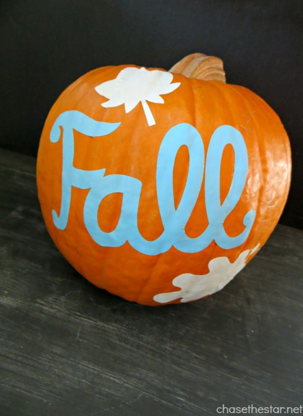 No carve pumpkin via chase the star for smart school house