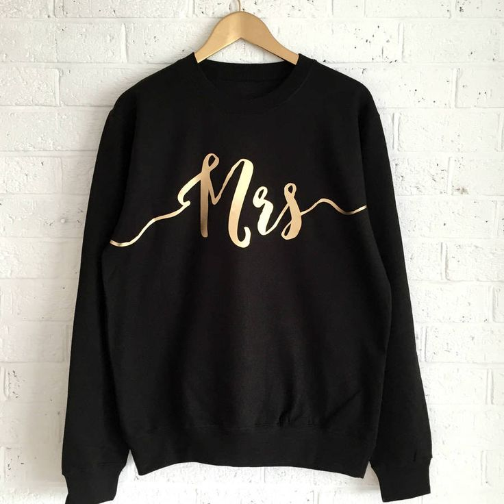 Are you interested in our brides Wedding gift ? With our Mrs sweatshirt gift for brides you need look no further.