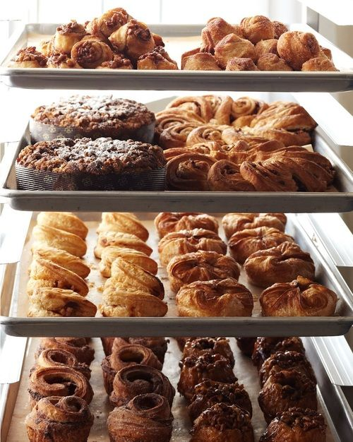 A bakery of beautiful pastries.