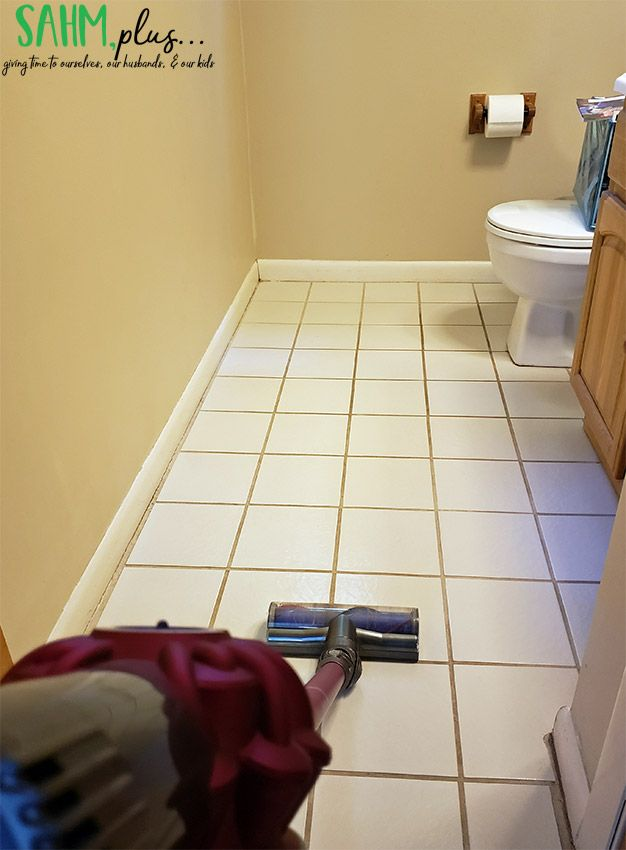 Cleaning Bathroom Tile With Dyson Stick Vac Sahmplus Com Clean