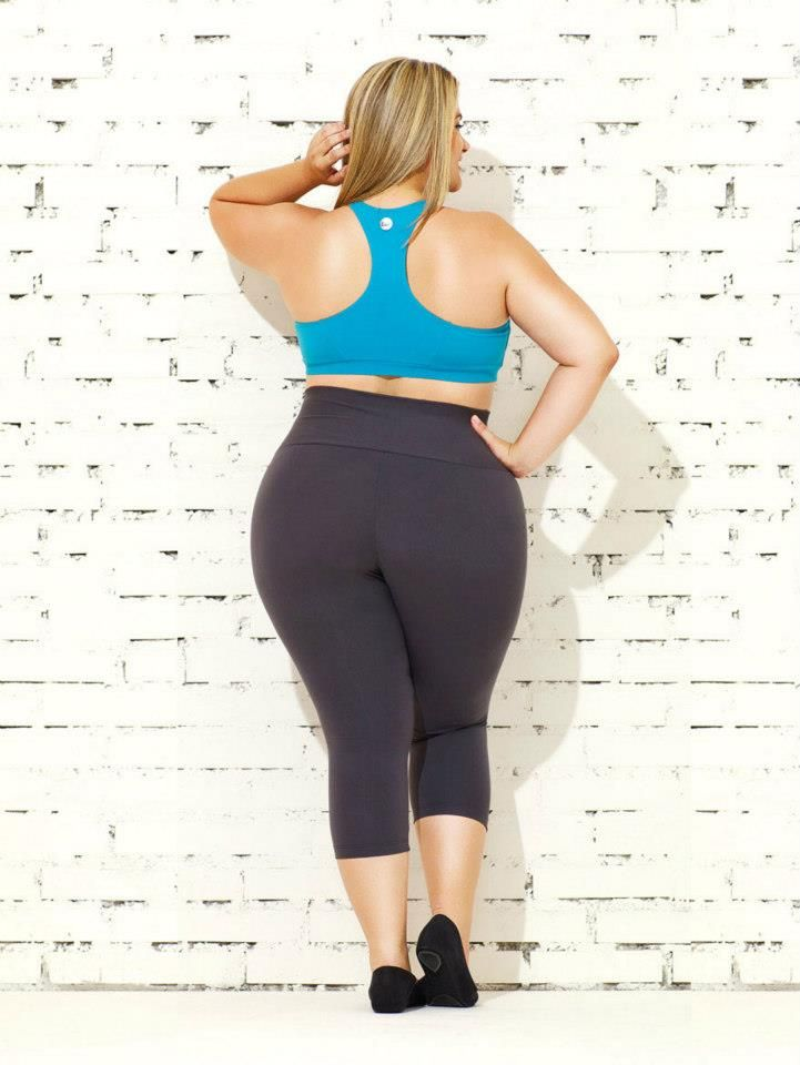 The founder of Katie K, Katie Kozloff, got the idea for her clothing line while working as a personal trainer. Her curvy clients would complain that there wasn't any stylish workout clothing that they could find, so Katie decided to found her own clothing brand, catering to women from sizes two to twenty-four.