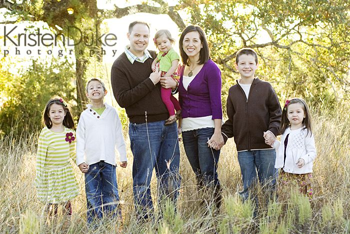 Family of 7 {Round Rock Family Portraits} - Capturing Joy with Kristen Duke