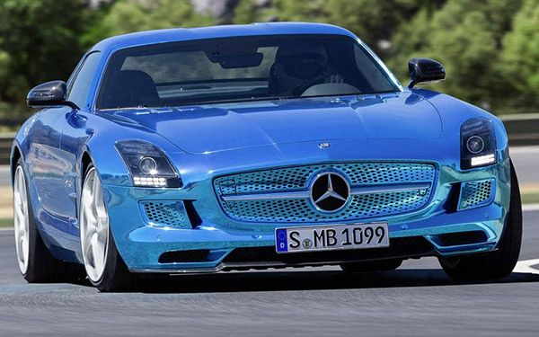 Mercedes swaggered into the Paris motor show this weekwith its formidable Electric Mercedes-Benz SLS AMG, the world's most powerful electric car.