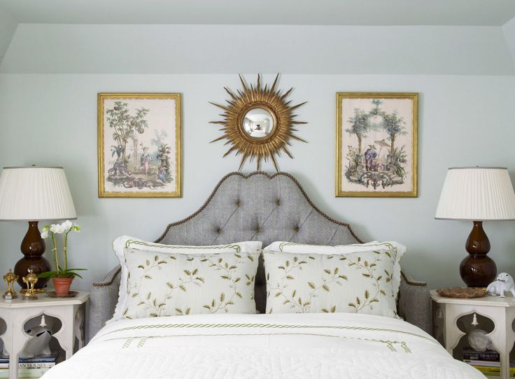 With just the right hue, you won't lose any sleep — and you'll wake up ready to go. Designers choose the best bedroom paint colors.   - HouseBeautiful.com