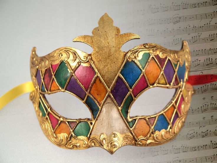 Classic Colombine mask