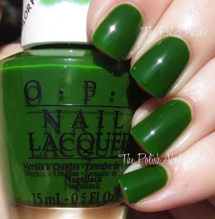 25 mejores imágenes de OPI Green Shades en Pinterest | Colores de ...