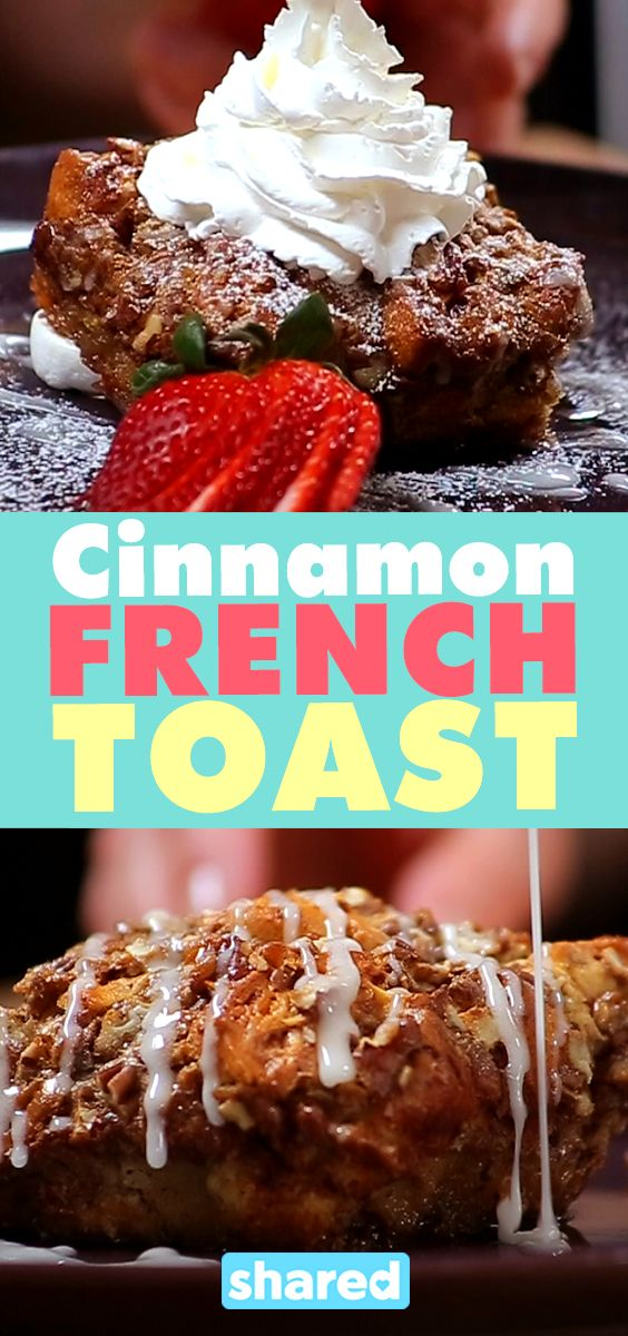 Cinnamon Bun French Toast Bake
