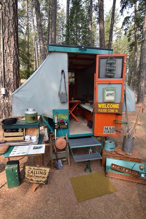 Perfect For Wintery Weather Just Kidding This 1932 Kozy Kamp Tent Trailer Is Owned By James T