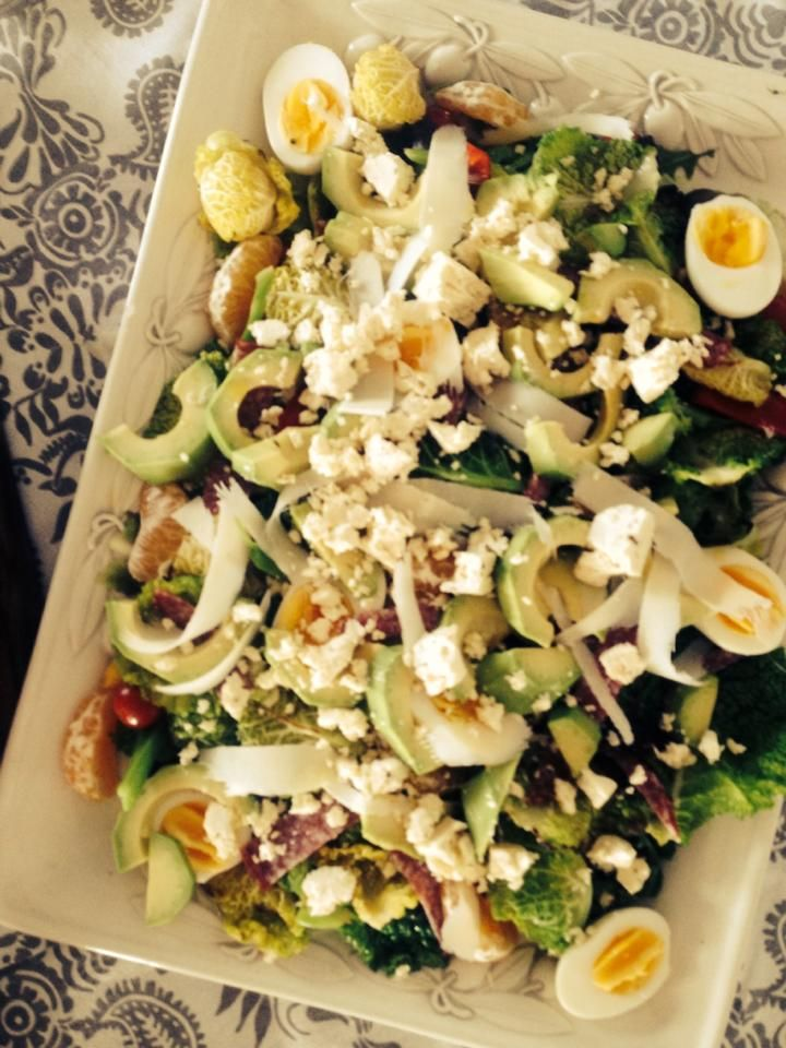 egg and avo greens salad | Orgasmic Food | Pinterest | Salads, Eggs ...