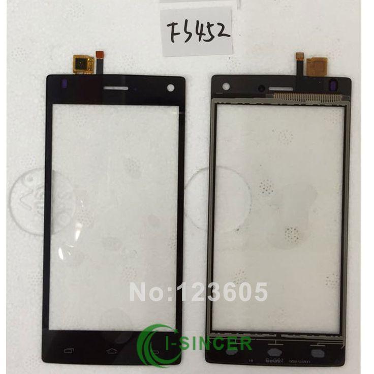 Écran tactile Digitizer Pour FLY FS401 FS403 FS452 FS451 FS501 FS502 avant Lentille En Verre Tactile Panneau Écran Tactile Digitizer Noir