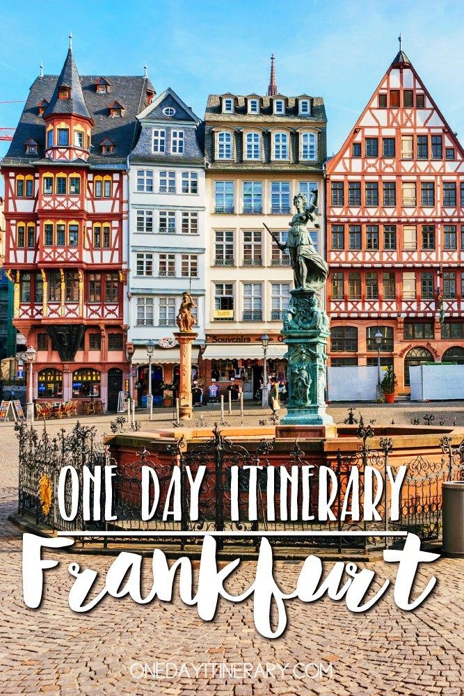 One Day In Frankfurt 2020 Guide Top Things To Do Germany