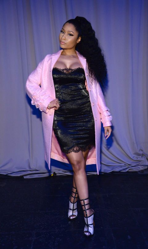 Nicki Minaj at the Tidal launch event on March 30, 2015.