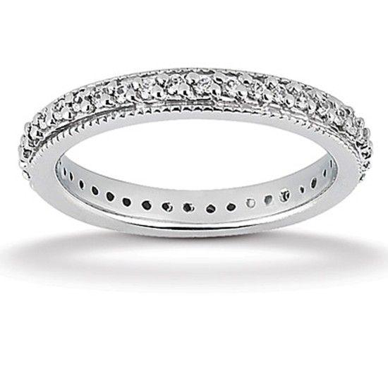 Evighetsring med 0.60ct Diamanter