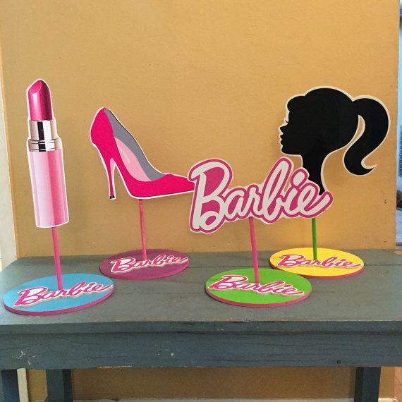 Barbie Zebra Theme 1st And 5th Birthday: Best 20+ Barbie Centerpieces Ideas On Pinterest