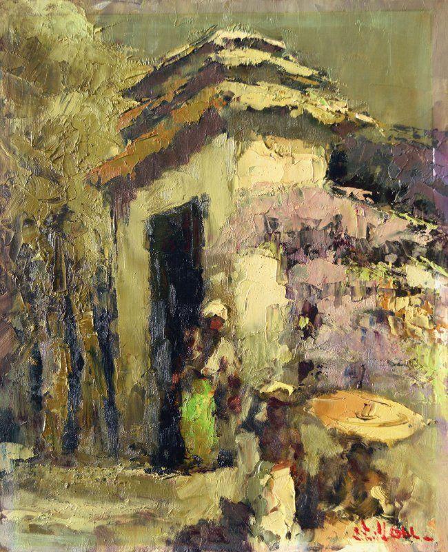 Lucien Frits Ohl - Untuk Gerbang Candi (voor de poort van de tempel)
