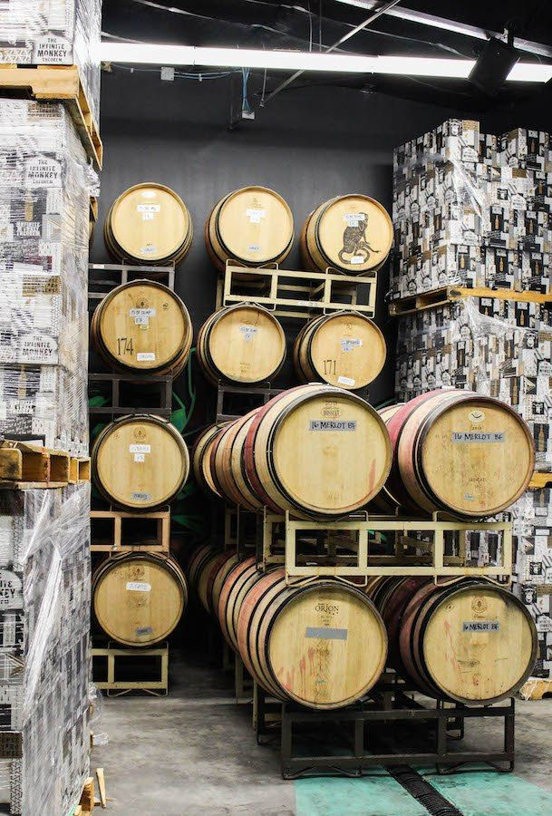 Fearless Captivations Infinite Monkey Theorem Winery Austin Wine Barrel