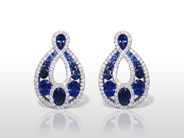 Nov 2016 #Auction Results: #SapphireEarrings Sold for $2,500. Subscribe www.federalauction.ca/subscribe #Vancouver #Calgary #Edmonton #Toronto