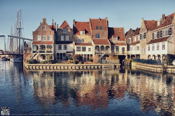 Het allermooiste plekje qua architectuur van Enkhuizen