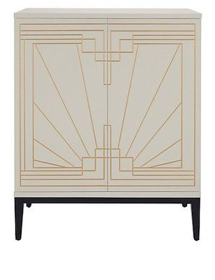 Art Deco-style Carraway drinks cabinet from Marks & Spencer