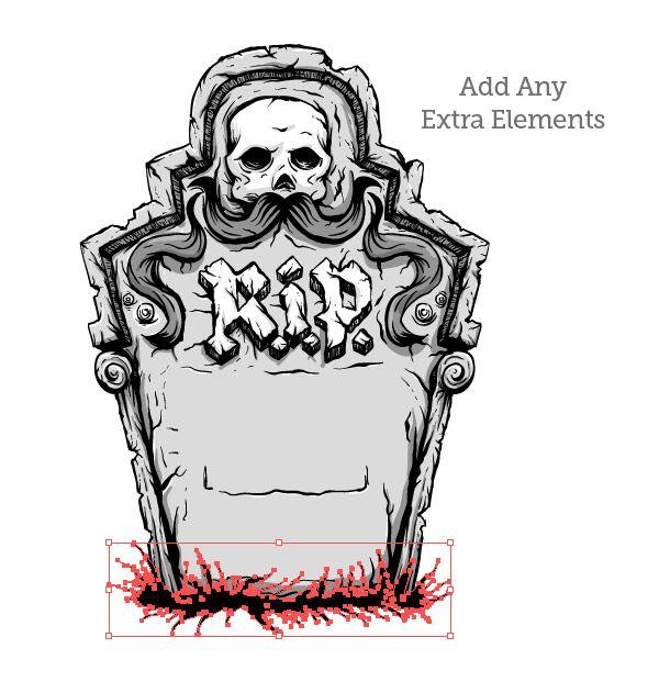 Halloween Tombstone Designs