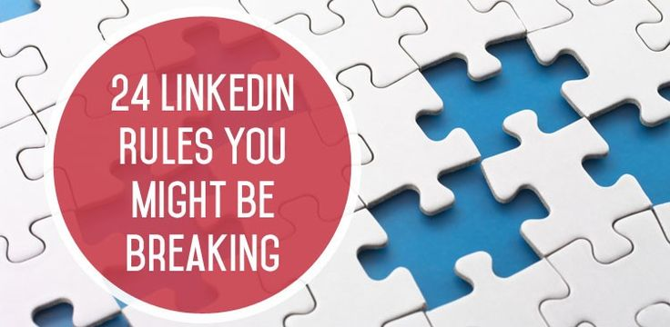 Some good insights on the Do's and Don'ts of LinkedIn: LinkedIn Rules - LinkedIn Tips and Etiquette