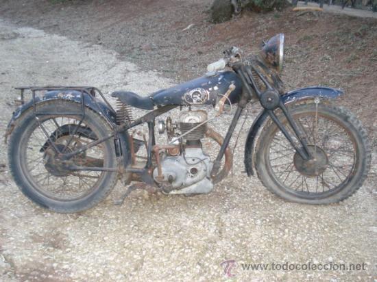 PEUGEOT P-108, DE 250 CC, AÑO 1930.MOTO ANTIGUA. - Foto 1