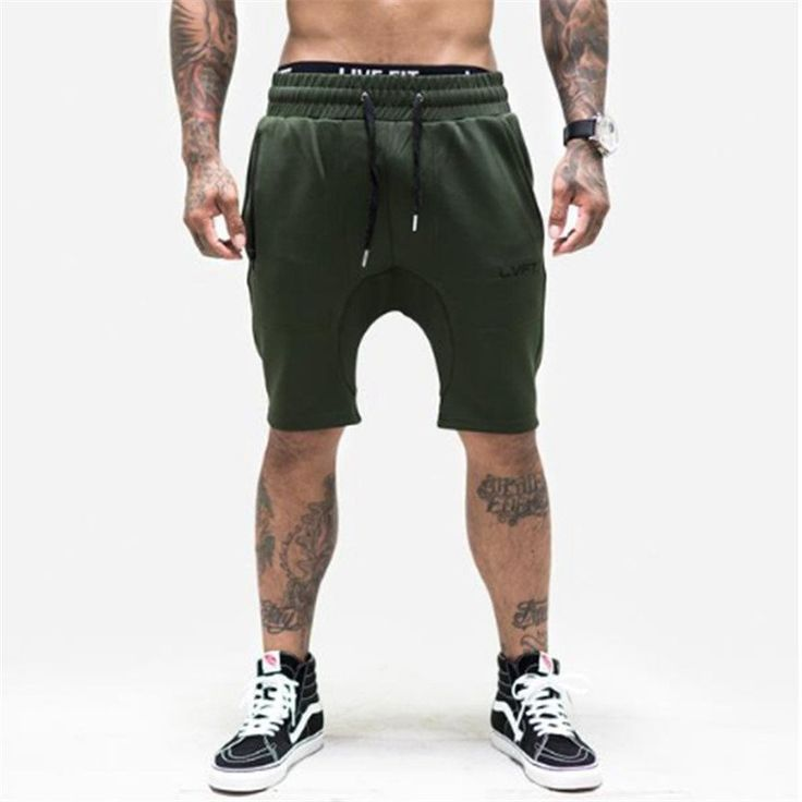 Men's Camouflage Gyms Shorts Bodybuilding Knee Lenght Pants Casual Trousers Fashion Brand Runner Short Pants 2017 New