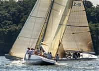 "New York Yacht Club Race Week at Newport ""Laura"", USA KZ5 USA, USA 61, Owner/Skipper: James Heckman, City: Arlington, VA, USA, Model: 12 Metre ""Laura"", USA KZ5, Owner/Skipper: kip curren, City: Warwick, RI, USA, Model: 12 Metres"