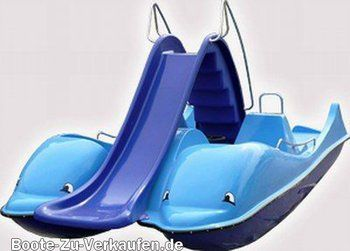 Colano Delphin - This pedal boat looks like so much fun.