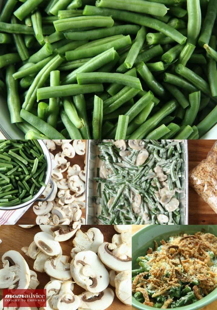 Make-Ahead Green Bean Casserole from MomAdvice.com.