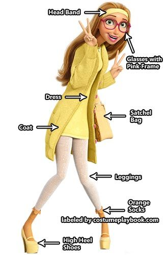 Dress up as Honey Lemon and the rest of the cast of Big Hero 6! :) Full guide at: http://costumeplaybook.com/movies/big-hero-6/2022-honey-lemon-costume/