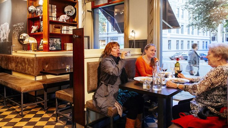 Grisen: Koselig og moderne publokale.
