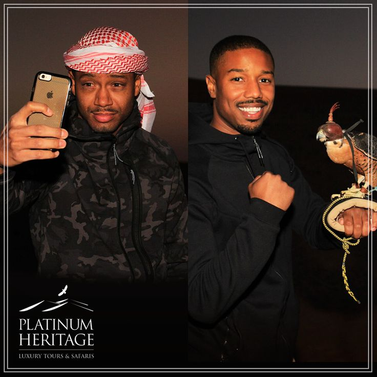 Actor Michael B Jordan from Creed and Terrance Jenkins stopped by this week to enjoy a once in a lifetime desert experience. Guess what? You can too! Check out our Platinum tours: http://fal.cn/K5aO #PlatinumHeritage