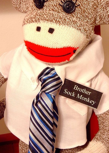 sock monkey missionary!