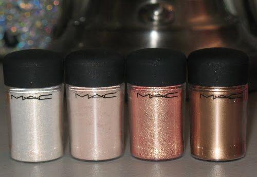 MAC pigments  - glitter!!!!