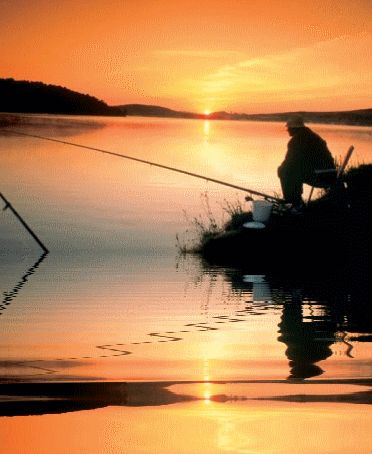 Even if nothing takes the bait, I have caught something amazing.......PEACE and QUIET <3