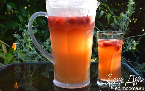 Персиковый холодный чай | Кулинарные рецепты от «Едим дома!»