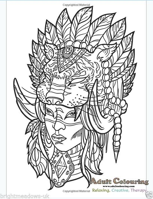 sioux coloring pages - photo#16