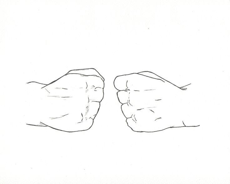 Ilustración de la palabra Compañero en Lengua de Señas