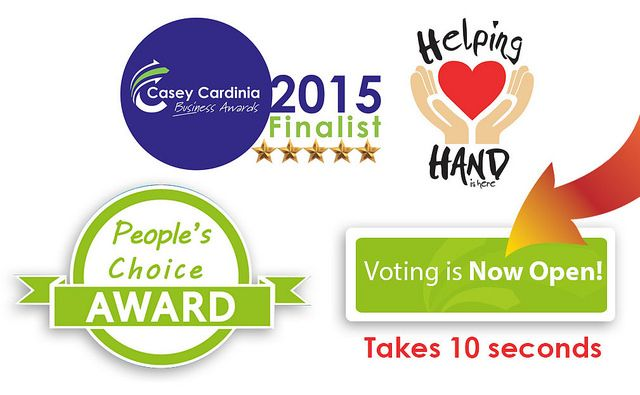 Vote Now People's Choice Award 2015 | Helping Hand Is Here