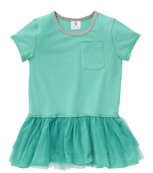 Hootkid Don't Drop It Dress Mint Sizes 1-6