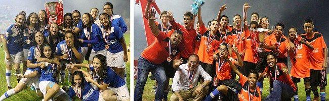 Instituto Iberia y Notre Dame se coronan campeones Copa de Fútbol